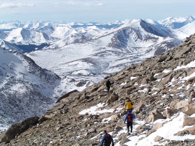 Mount Evans Hike From Guanella Pass