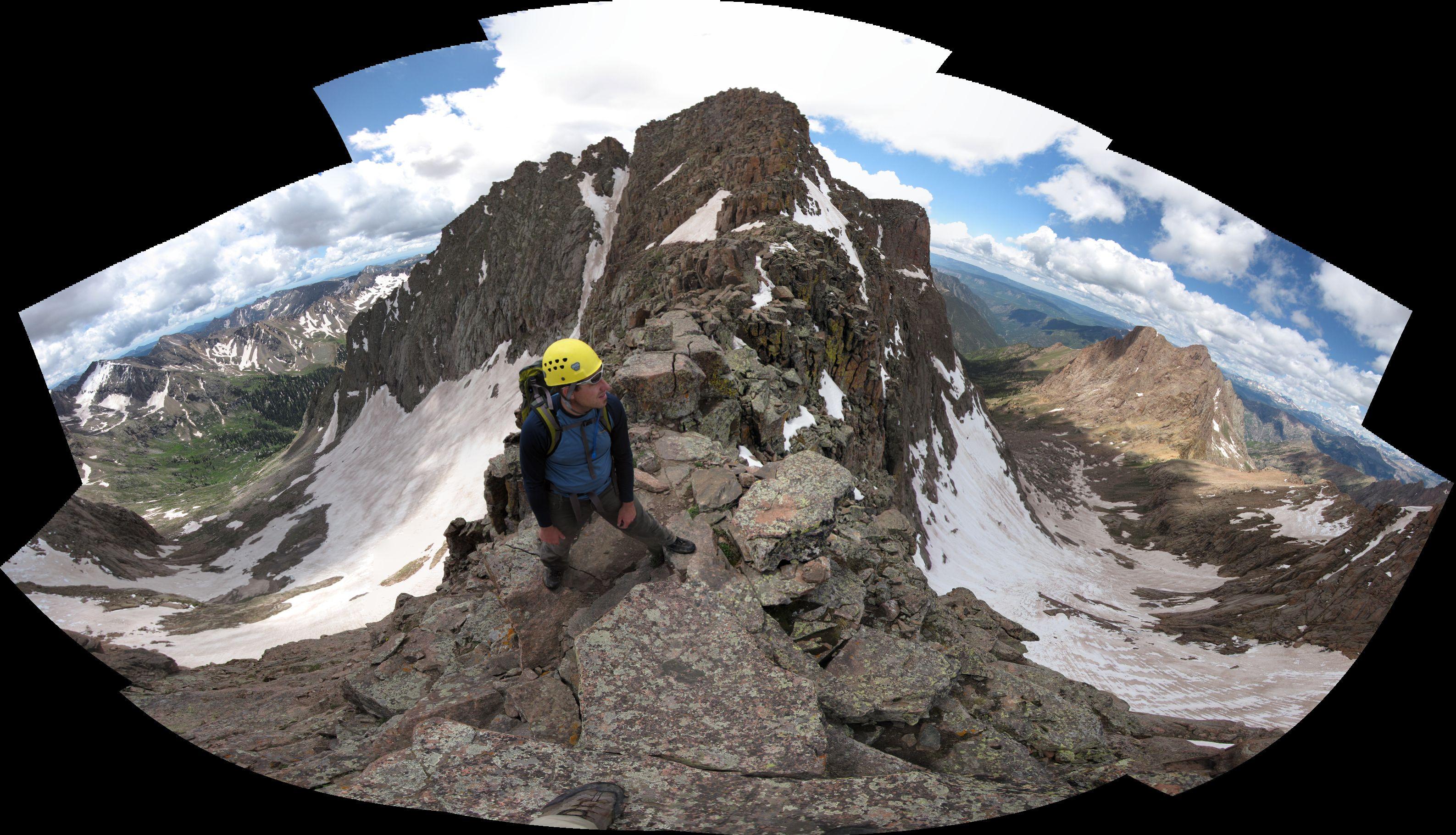 14ers.com • Mt. Eolus, Windom Peak, and Sunlight Peak | Route ...