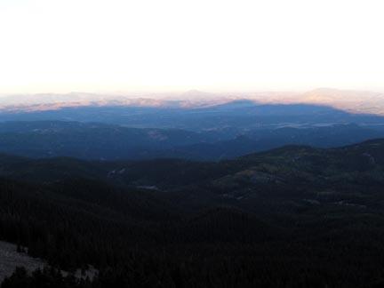 Shadow of Pikes Peak